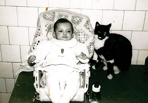 ME AND MY CAT ROSSELLA