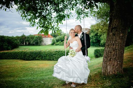 Braut und Bräutigam in Zwickau