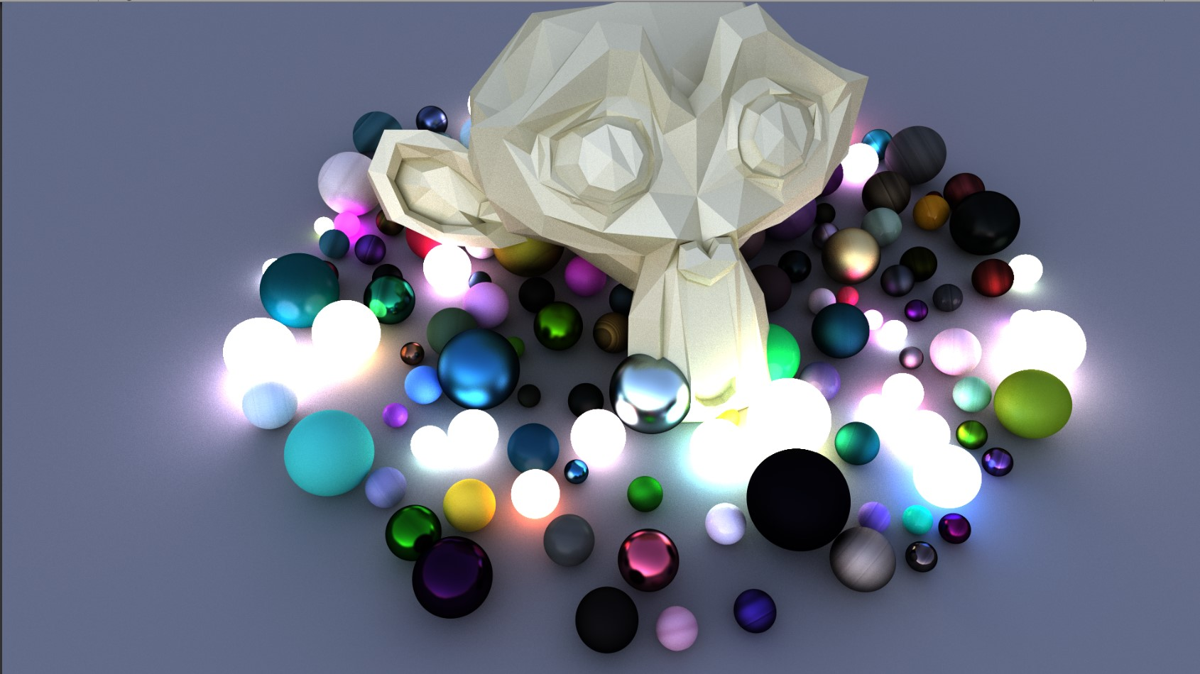Ray Tracing and Surface Material using Render Equation.