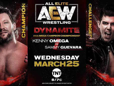 [Archive] Preview: Kenny Omega vs Sammy Guervara
