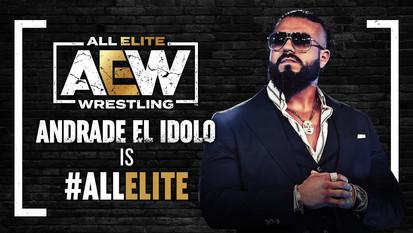 Andrade El Idolo Debut on AEW Dynamite