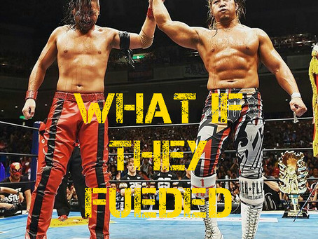 [Archive 2018] Booking: Tanahashi vs Nakamura in WWE
