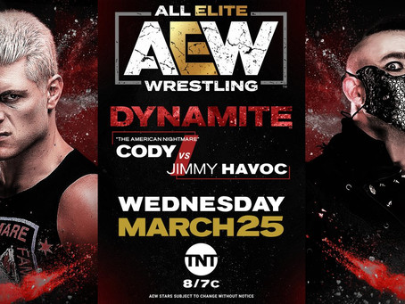 [Archive - 2020] Preview: Cody vs Havoc on AEW Dynamite