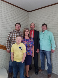 Our Pastor Bro Terry Williams and family