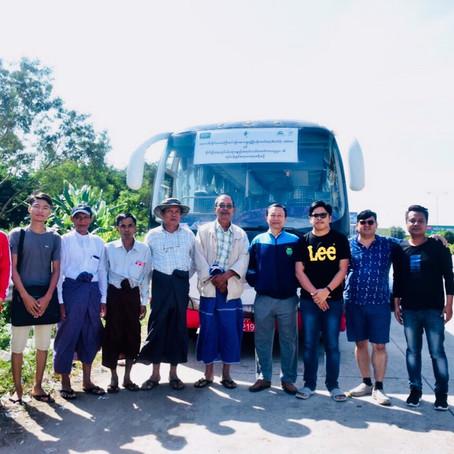 Agro-dealer learning visit to the Mandalay seed trade fair မန္တလေး မျိုးစေ့ပြပွဲသို့ အလည်ခရီးစဉ်