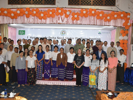 First Ayeyarwady Delta Seed Platform Meeting: Developing an Action Agenda