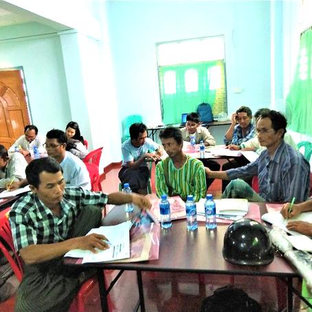 Pathein Seed Growers Training on Internal Quality Control