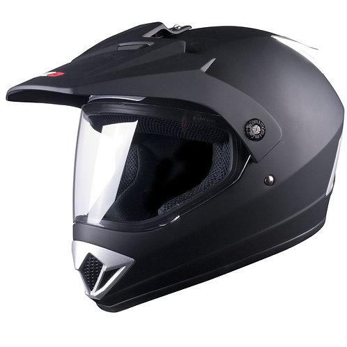 Tuzo V370 Adventure Helmet Matt Black