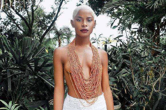 Parvati Bali Beaded Necklace