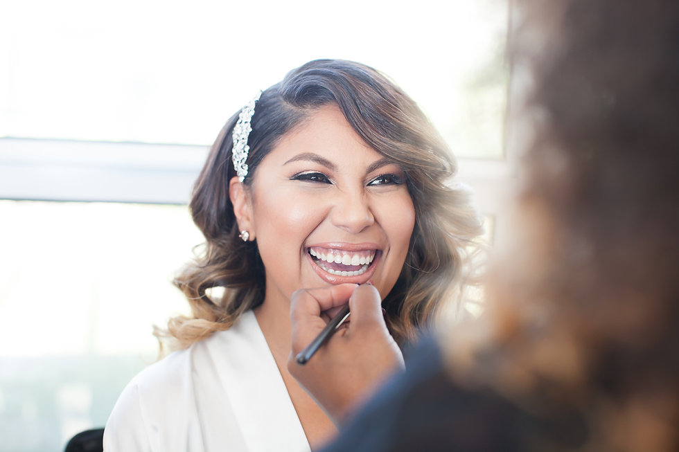 Professional bridal makeup artist in Miami