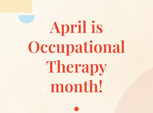 Happy OT Month!!
