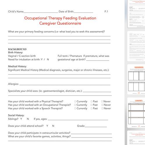 Feeding Evaluation Tool Kit
