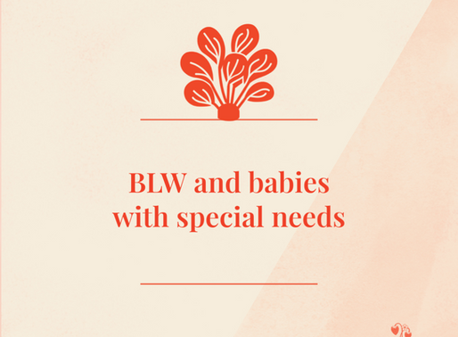 Can my baby with special needs, or developmental delays do Baby Led Weaning?