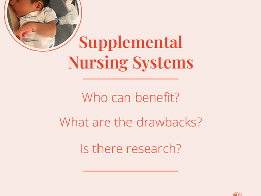 Why you might want to use a Supplemental Nursing System (SNS) for breastfeeding & how to use it