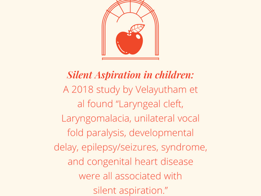 What you need to know about silent aspiration in children