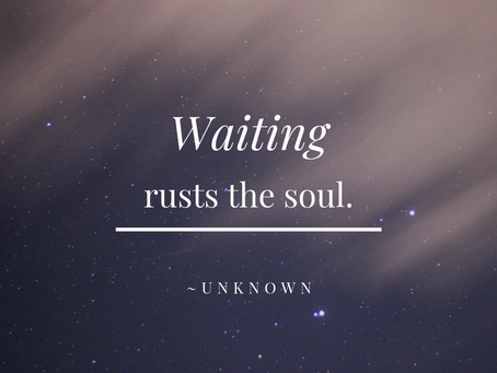 Are You Waiting to Show Up?