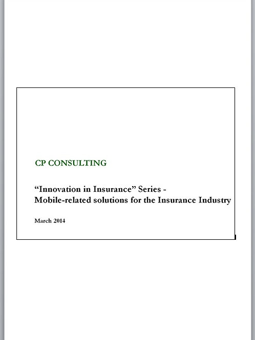 Mobile-related Solutions for General Insurance