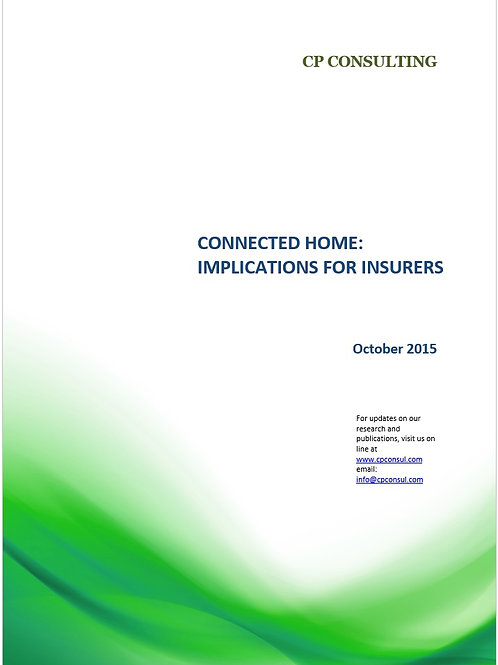 Connected Home: implications for insurers