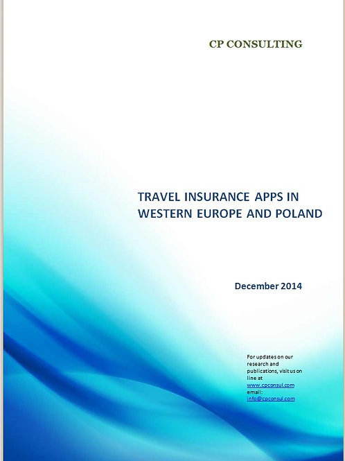 Travel Insurance Apps in Western Europe and Poland