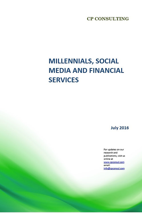 Millennials, Social Media and Financial Services