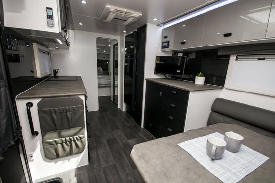 Luxury caravans at it's finest