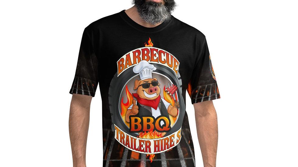 BBQ Team T - All-Over Print Men's Crew Neck T-Shirt