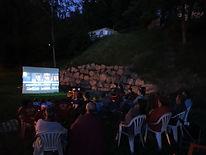 cinéma camping La Fressange