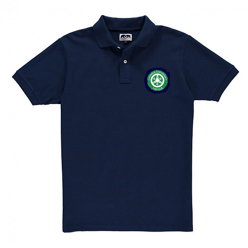 Polo shirtcomes with CDCC logo