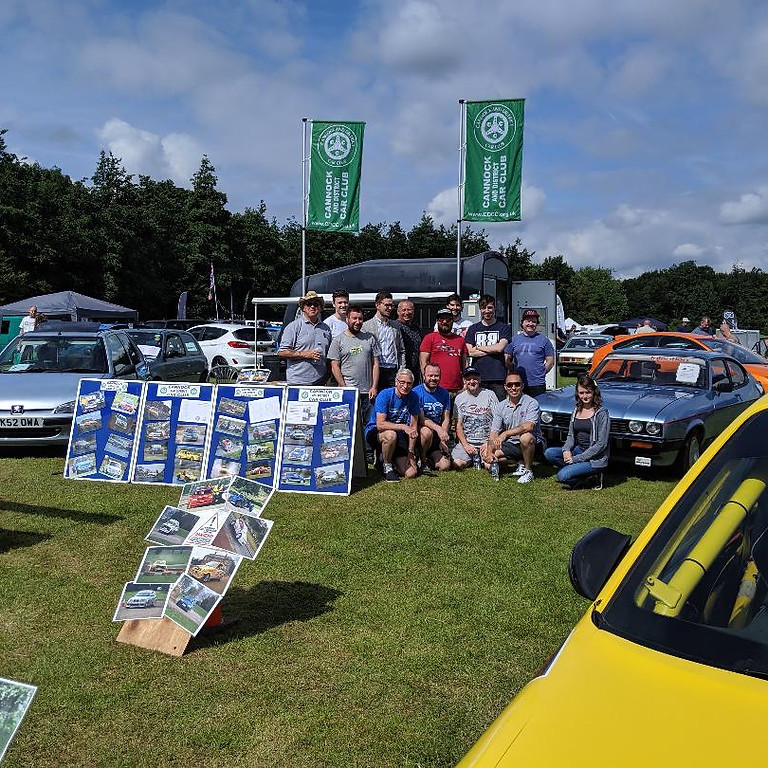 CDCC at Cars in the Park Lichfield 3rd and 4th July 2021