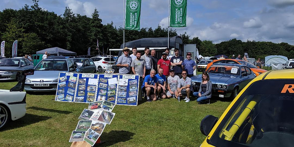 CDCC at Cars in the Park Lichfield 11th and 12th September 2021