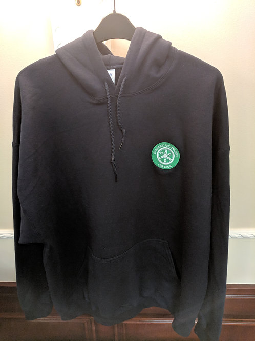 Hoodie comes with CDCC logo