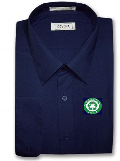 Mens short sleeve shirt comes with CDCC logo