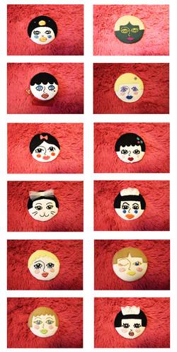 Portrait Collection (Button)