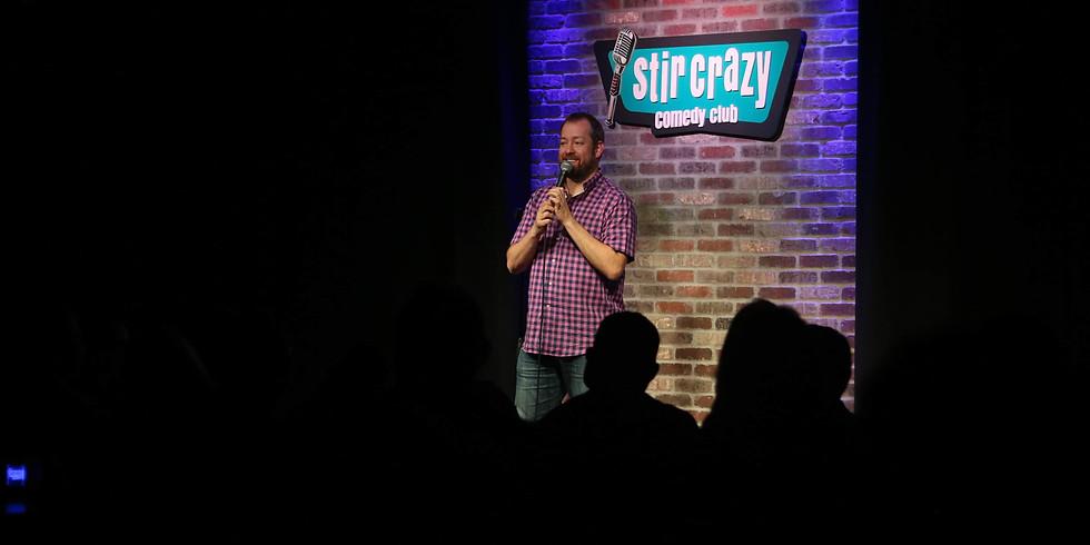 Brandt Tobler Headlines LA Comedy Club