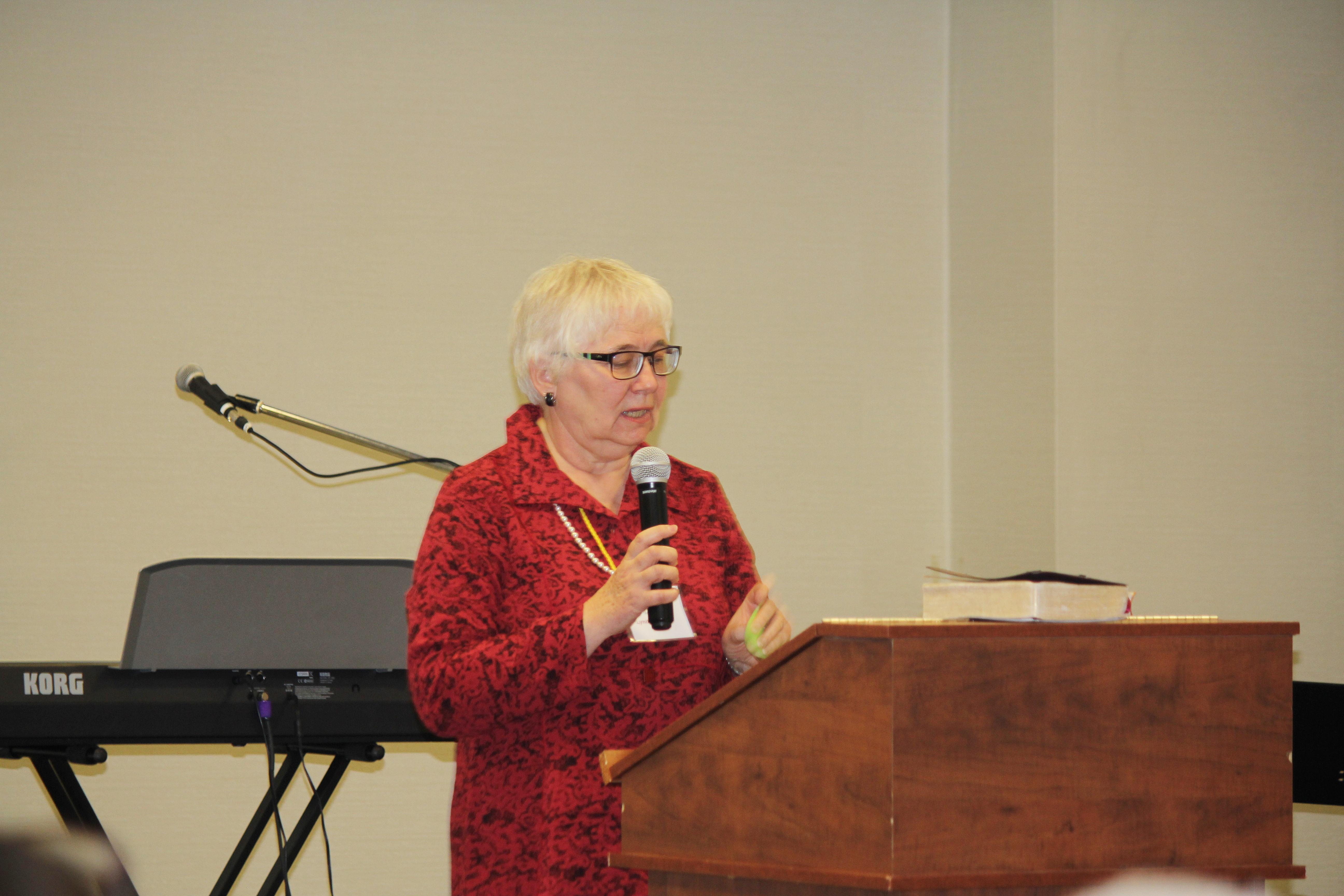 Our guest speaker Lynda Schultz