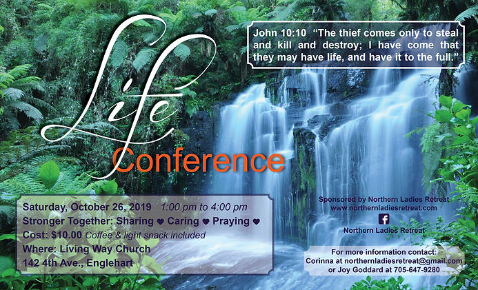 Life Conference Poster 2019_Living Way C