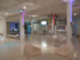 Salle de reception spacieuse, modulable, élégante et moderne