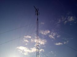 sustitución de torreta de antena