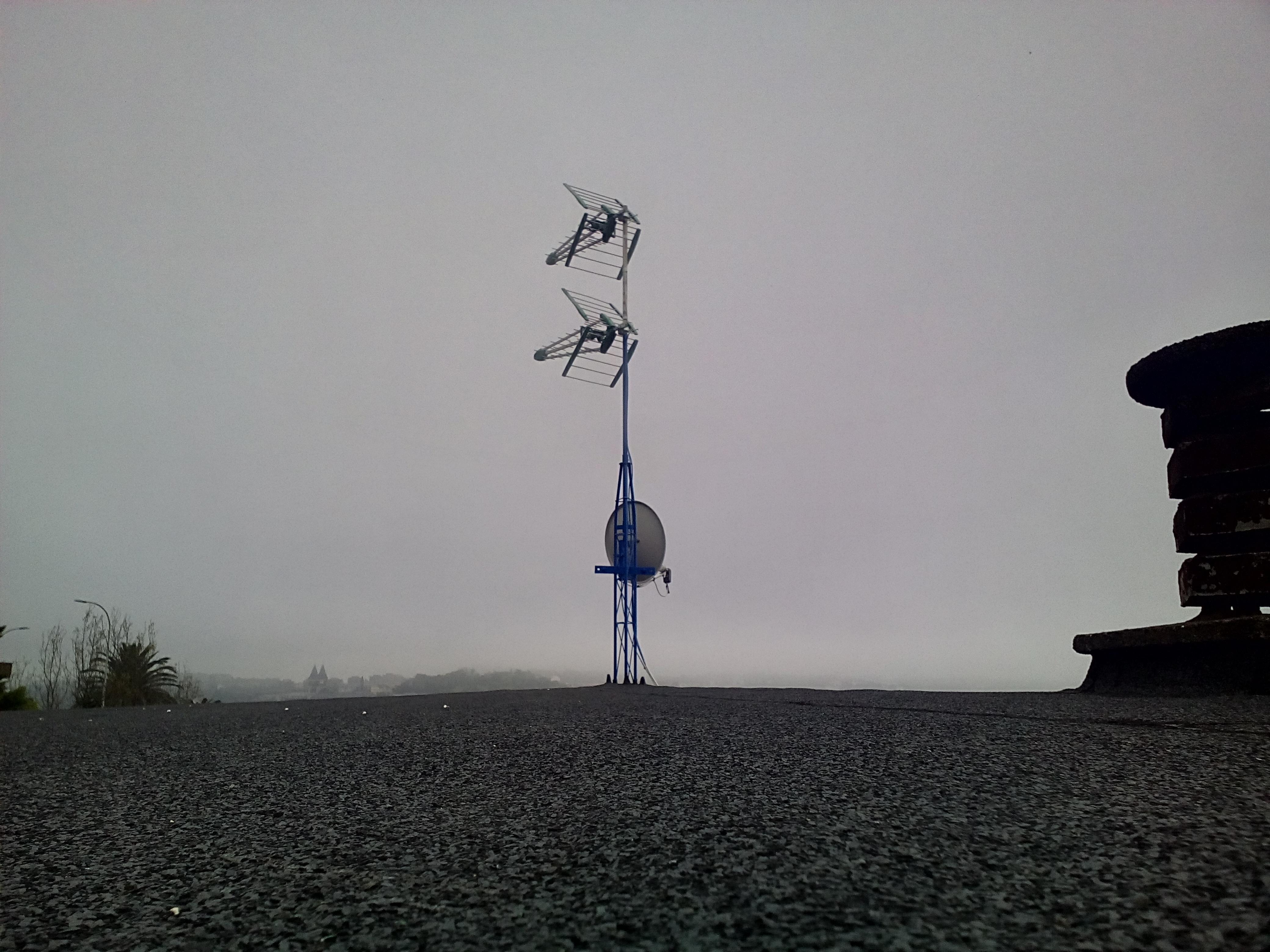 antena tejado