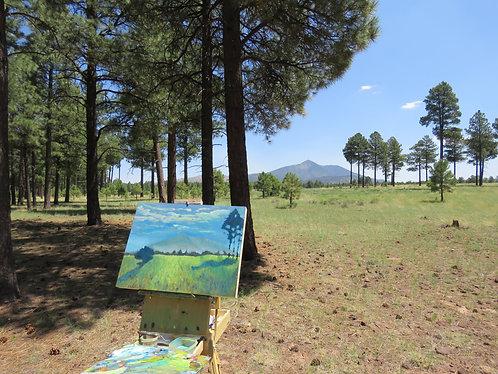 """Woven Grasses"" Original oil on Panel"