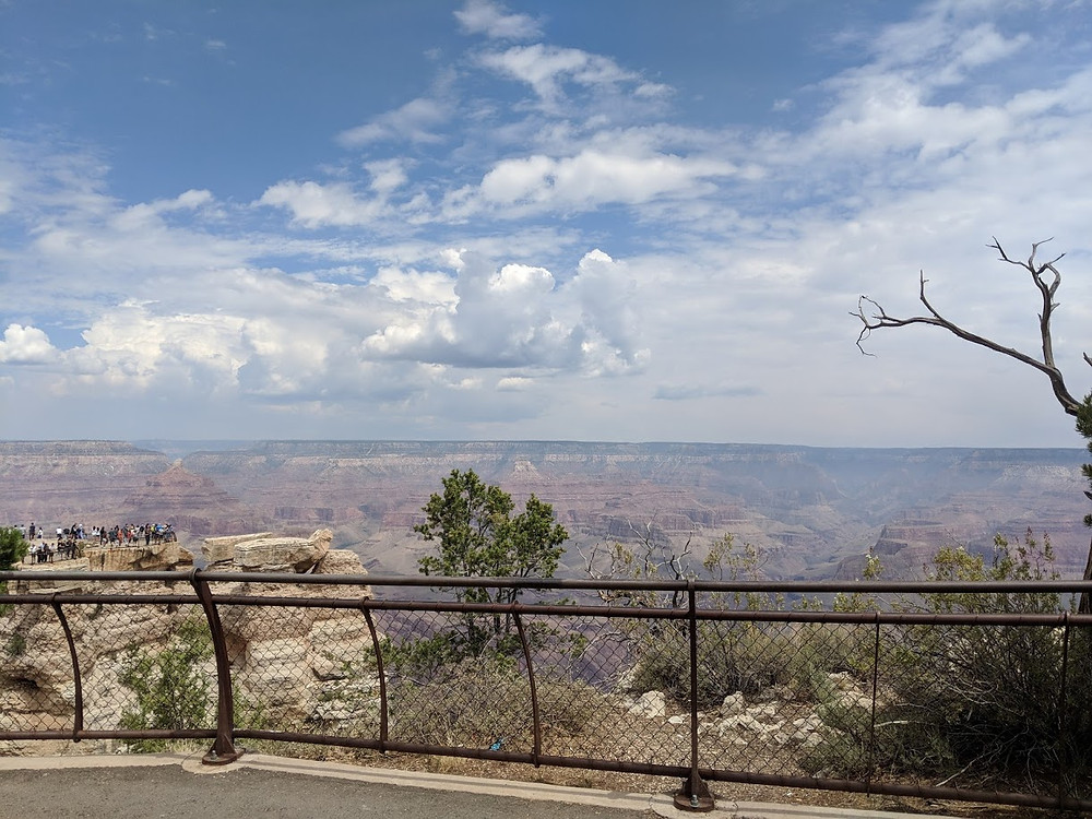 Grand Canyon South Rim, my little slice of heaven today.