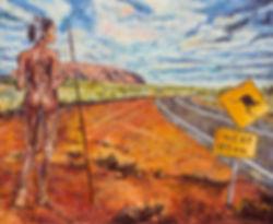 oil painting by akos artist australia