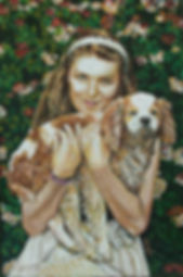 portrait oil painting by akos artist australia
