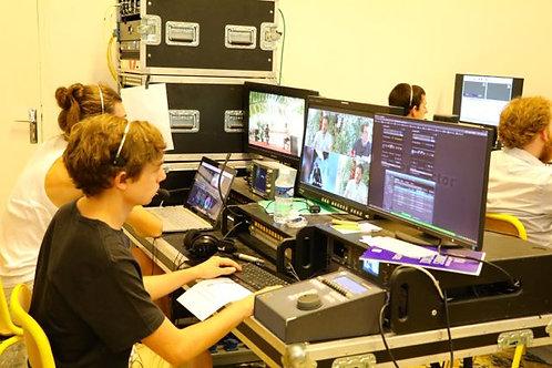 PLATEAU TV IN SITU DANS VOS LOCAUX (3 CAMÉRAS)