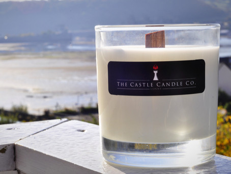Luxury Soy Scented Candles Hand Poured by The Castle Candle Company