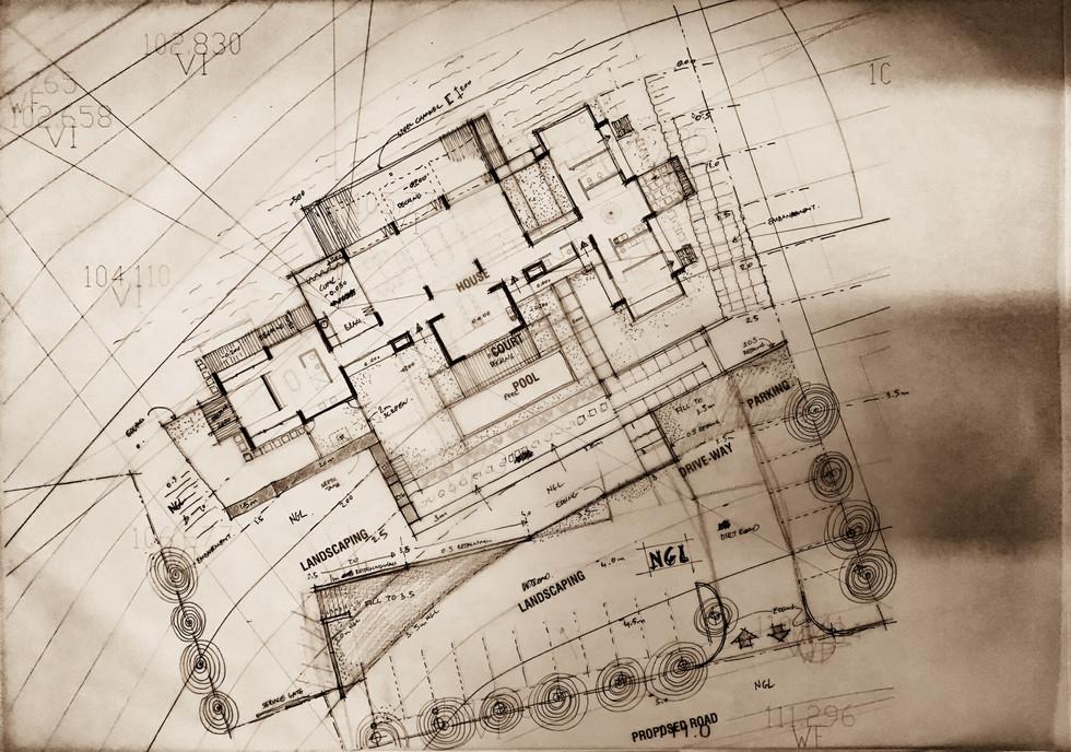 Urban Farm House, Concept Plan