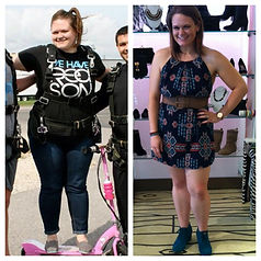 Total weightloss transformation.