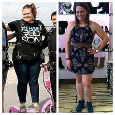 Total weightloss transformation.