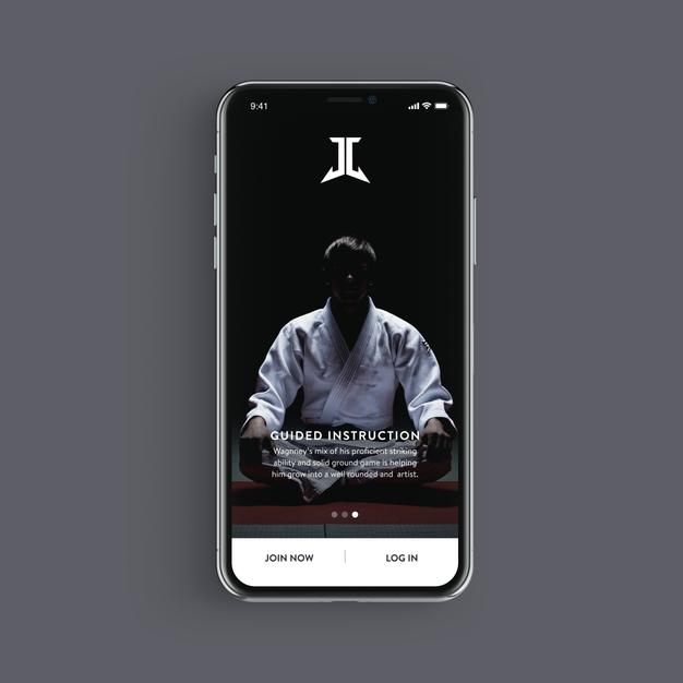 Porrada BJJ Mobile App.