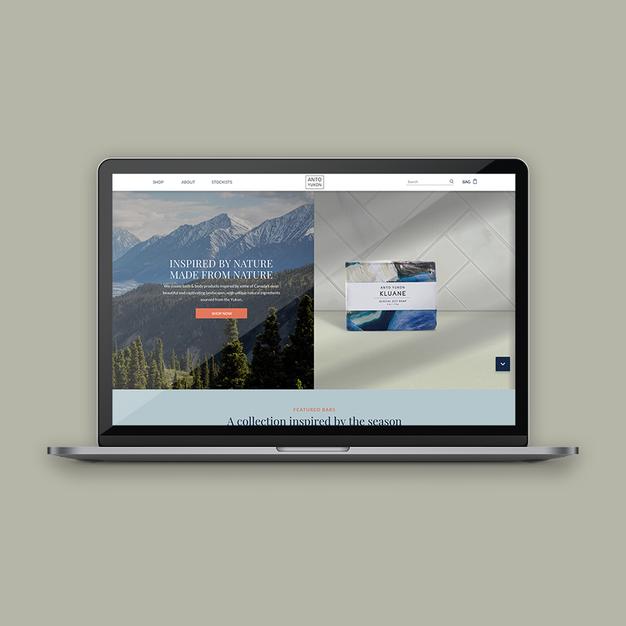 Anto Yukon E-com Website